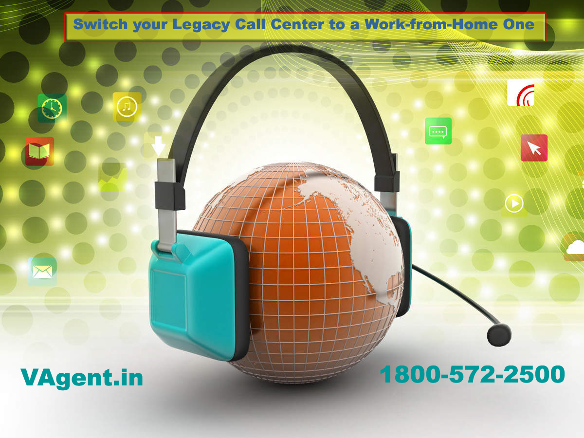 Switch your Legacy Call Center to a Work-from-Home One